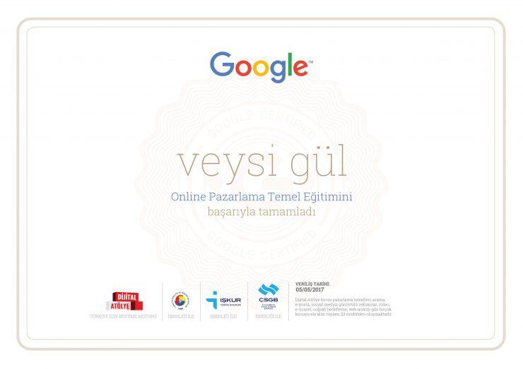 Google Online Pazarlama